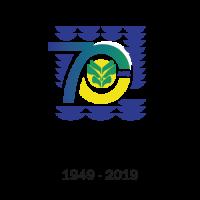 logo ville saint-laurent du maroni 70ans