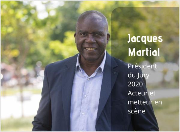 Jacques Martial Président du Jury