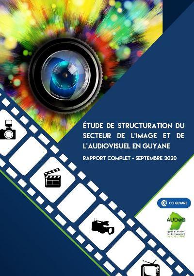 Étude de struturation du secteur de l'image et de l'audiovisuel en Guyane