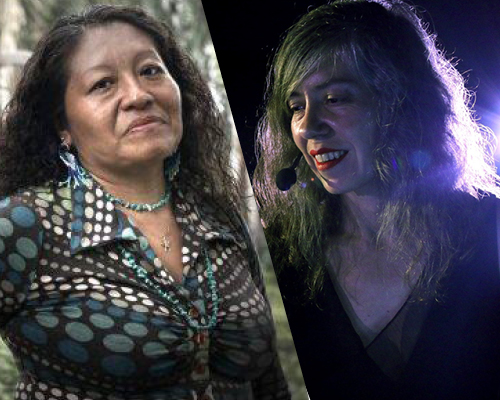 Ti'iwan Couchili et Marjorie DELLE-CASE